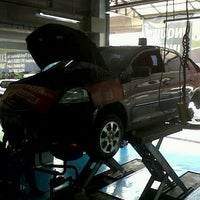 Photo taken at Toyota Balintawak by Stephen M. on 7/26/2012