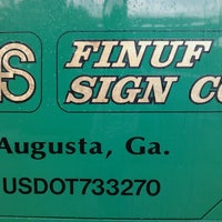 Photo taken at Finuf Sign Co. by David M. on 6/11/2012