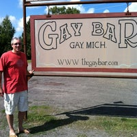 Photo taken at Gay Bar & Grill by Julie L. on 8/27/2012