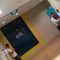 Photo taken at Citibank Tower by Chen-Chen O. on 3/9/2012