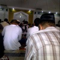 Photo taken at Masjid Shalahuddin Dirjen Pajak by Lulu H. on 3/30/2012