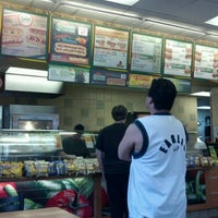 Photo taken at Subway by Aaron R. on 3/14/2012