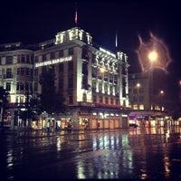 Photo taken at Paradeplatz by Anthony M. on 8/4/2012