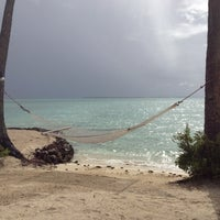 Photo taken at Le Taha'a Private Island And Resort Spa by Matt K. on 4/27/2012