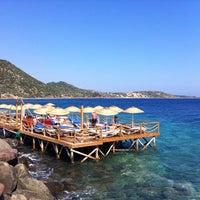 8/26/2012 tarihinde Ilker A.ziyaretçi tarafından Assos Antik Liman'de çekilen fotoğraf