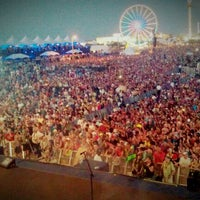 Photo taken at Hangout Music Fest 2012 by Danielle C. on 5/21/2012