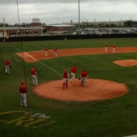 Photo taken at Red Murff Field (UMHB) by Chris D. on 3/7/2012