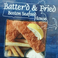 Photo taken at Batter'D-Fried Boston Seafood by Kristy B. on 6/18/2012