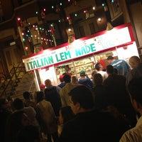 Photo taken at Mario's Italian Lemonade by Luis F. on 5/12/2012