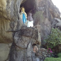 Photo taken at Our Lady of Lourdes Parish Church by Gina A. on 5/26/2012