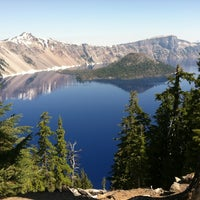 Photo taken at Crater Lake National Park by Dan V. on 7/10/2012