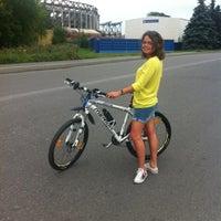 Photo taken at Гоняем На Великах by Alexandra K. on 8/6/2012