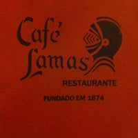 Photo taken at Café Lamas by Mary O. on 4/23/2012