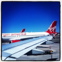 Photo taken at Virgin America by Ken P. on 8/6/2012