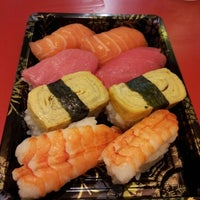Photo taken at Sushi Kiosk by vitantina h. on 6/27/2012