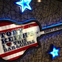 Photo taken at Toby Keith's I Love This Bar & Grill by Jessica on 6/22/2012