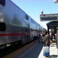 Photo taken at Mountain View Caltrain Station by John R. on 9/2/2012