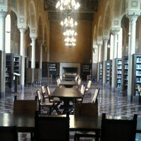 Photo taken at Hoose Library of Philosophy (MHP) by Christopher R. on 4/25/2012