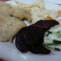 Photo taken at Restaurante Candeias by Jaqueline B. on 2/9/2012