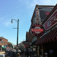 Photo taken at World Famous Beale Street by Sean A. on 4/12/2012
