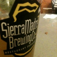 Photo taken at Sierra Madre Brewing Co. Pub by Erick C. on 6/10/2012