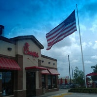 Photo taken at Chick-fil-A Humble by Richard S. on 8/18/2012