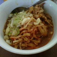 Photo taken at Mie Ayam Jamaras by A H. on 8/21/2012