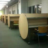 Photo taken at Brandel Library - North Park University by Lizelle M. on 8/30/2012