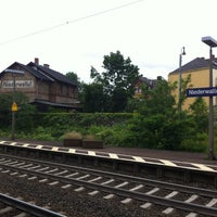 Photo taken at Bahnhof Walluf by Arif O. on 6/21/2012