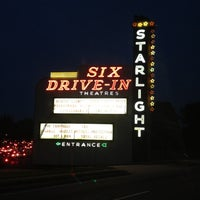 Photo taken at Starlight Six Drive-In by Beth on 8/26/2012