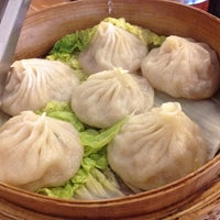 Photo taken at Nan Xiang Xiao Long Bao by Lauren S. on 5/13/2012