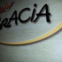 Photo taken at Bracia Parrilla Restaurante e Choperia by Wellington P. on 8/7/2012