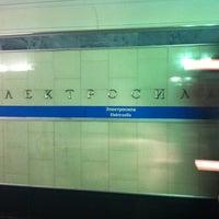 Photo taken at metro Elektrosila by Hardloff on 5/3/2012