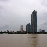 Photo taken at Bangkok Bistro Riverfront by Ananya S. on 6/19/2012