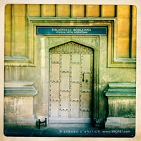 Photo taken at Bodleian Library by Steven E. on 7/31/2012