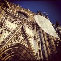 3/20/2012 tarihinde cziyaretçi tarafından 383. Cathedral, Alcázar and Archivo de Indias in Seville (1987)'de çekilen fotoğraf