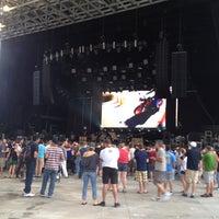 Photo taken at Verizon Wireless Amphitheatre at Encore Park by Jacqui C. on 8/19/2012