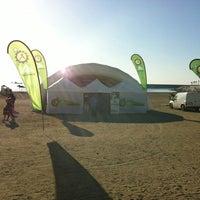 Foto tomada en Playa de La Farola por Clinica del Pie L. el 2/26/2012
