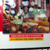 Photo taken at Jimmy John's by Shannon M. on 3/3/2012