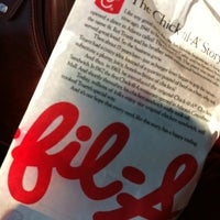 Photo taken at Chick-fil-A by Adrienne T. on 3/14/2012