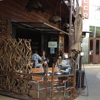 Photo taken at Old Vine Café by Abeer S. on 5/5/2012