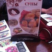 Photo taken at Винегрет Кафе by Mari D. on 3/25/2012