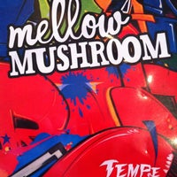 Photo taken at Mellow Mushroom by Aaron W. on 3/17/2012