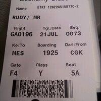 Photo taken at Soekarno Hatta Indonesian Customs by Rudy X. on 7/21/2012