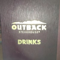 Photo taken at Outback Steakhouse by Jeff V. on 7/26/2012