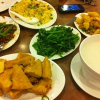 Photo taken at Congee Noodle House 粥麵館 by Brian L. on 7/12/2012