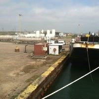 Photo taken at Martin Harbor Island by Winston S. on 4/5/2012