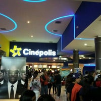 Photo taken at Cinépolis by César B. on 3/31/2012