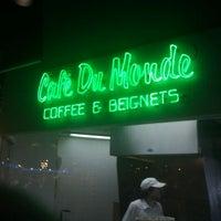 Photo taken at Café Du Monde by David Anthony Temple (. on 3/14/2012