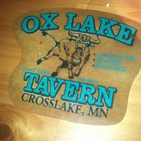 Photo taken at Ox Lake Tavern by Greg B. on 5/28/2012